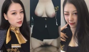 Pinay Flight attendant sex vid Kantutan Agad 1st Day Work