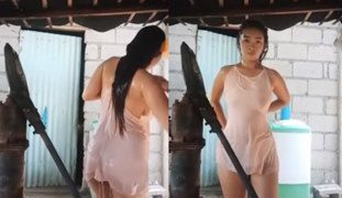 Pinay Girl Take Shower While Streaming LIVE BIGO (Sixsi Ako)
