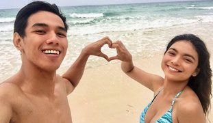 Pinay Teen Couple Vacation Nag Kantutan sa Beach